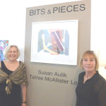 ARTISTS Susan Aulik, right, and TaVee McCallister Lee share an exhibit now on display at Gallery 621, 621 First St. Courtesy photo