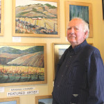 BENICIA ARTIST MARSHALL LOCKMAN. 	       Photos by Keri Luiz/Staff