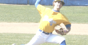 DILLON PALOMINO allowed only two hits over five innings and picked up the victory.