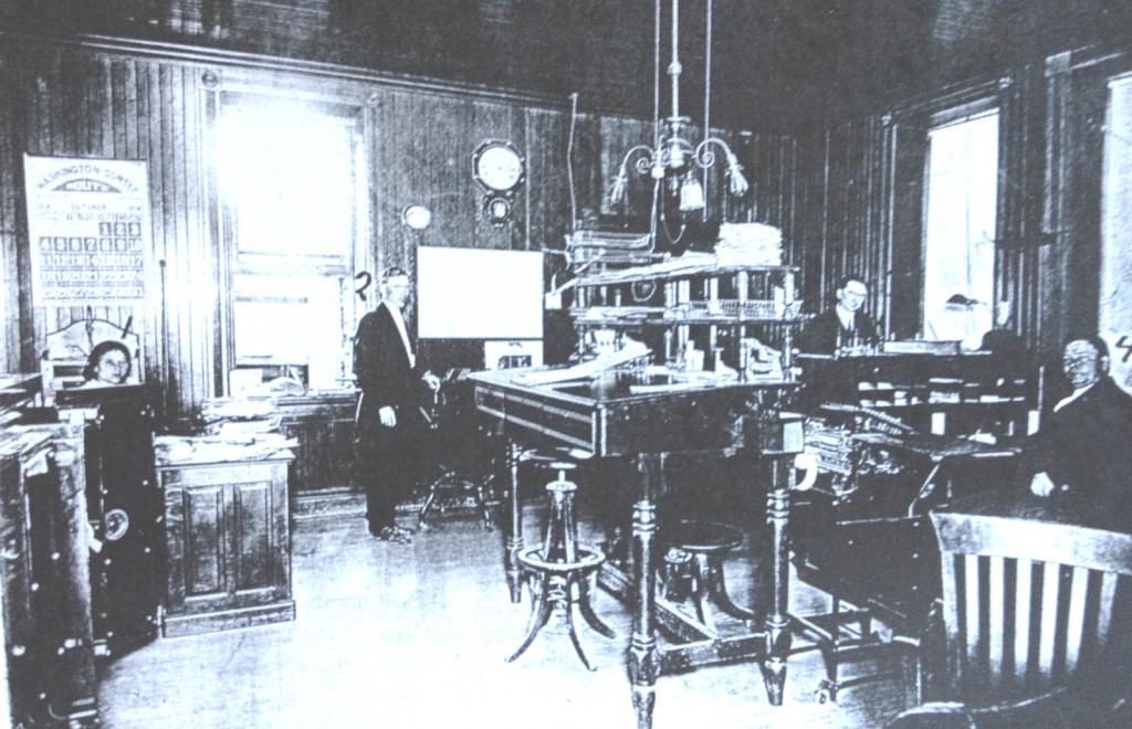THEKULLMAN-SALZ TANNERY OFFICE. Benicia Library Collection