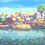 """JOY'S BENICIA BOATYARD,"" by Terry Hughes. Courtesy image"