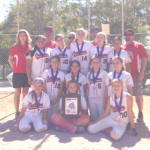 THE BENICIA OUTLAWS 12-under fastpitch softball team closed out the summer season with a clean sweep of  a tournament in Napa.