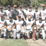 THE BENICIA OLDTIMERS went a perfect 5-0 in the Dutch Van Wey Classic, outscoring their opponents 22-2 over the final two games to win the club's first Northern California championship since 2010.