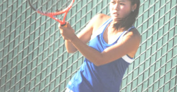 MICHELLE LI heads up a strong Benicia High girls tennis team.