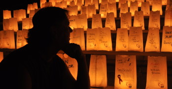 THE LUMINARIA  CEREMONY, in which candles  are lit inside bags bearing the  names of lost loved ones, will begin  at Benicia High School on Saturday  at 8:30 p.m. Learn more at www.RelayForLife.org/beniciaCa. troypennysaver.com