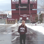 BENICIA HIGH graduate Alex Wardlow is a member of the University of Montana softball team, which begins its inaugural season in February 2015.