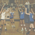 BENICIA HIGH'S varsity volleyball team remained unbeaten in the SCAC with a sweep of visiting Bethel.