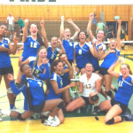 BENICIA HIGH'S varsity volleyball team captured the Concord Tournament last Saturday, the team's first tourney title since 2008.