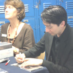 GUEST SOLOIST David Requiro signed copies of his CD after his performance Sunday in the Vallejo Symphony opener. Elizabeth Warnimont/Special to The Herald