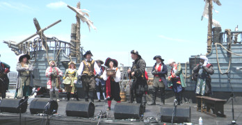 YARR! Friday be International Talk Like a Pirate Day, ye scurvy scallawags! File photo