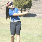 JENNIFER ELECCION was co-medalist for the day as Benicia High's girls golf team shot its best score in eight years against American Canyon at Mare Island.