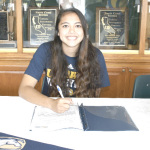 SPSV SENIOR Malia Bolko signed a letter of intent earlier this month to play volleyball for U.C. Davis.