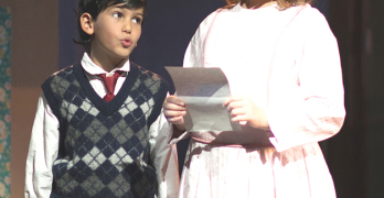 LUKA HENRIE-NAFFAA and Julia Kaufman Sommers as Michael and Jane Banks.
