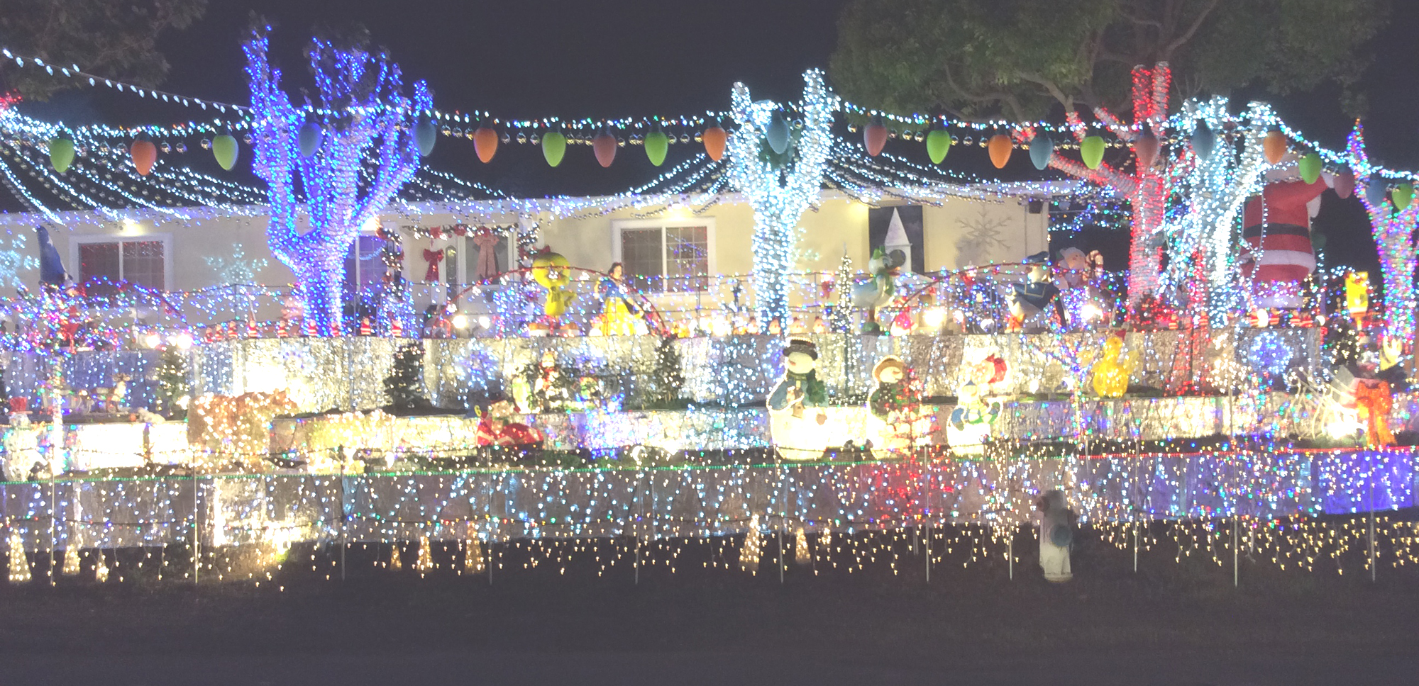brightest house on the block