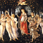 """""""LAPRIMAVERA"""" by Botticelli, on which the VSO selection of the same name was based. Wikipedia"""
