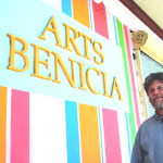 LARNIE FOX became Arts Benicia director on May 18, 2010. File photo