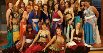 "Charisse ""Saiedah"" Garrett is the instructor and director of the 20 Grateful Siren Belly Fusion Dancers, who rehearse in Benicia Dance Studio and recently participated in the Rakkasah Middle Eastern Folk Festival and Fantasy Bazaar in Richmond. Photo courtesy Charisse Garrett"