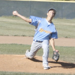 EVAN PHILLIPS threw a four-hit shutout at American Canyon to lead the Benicia High varsity baseball team into the playoffs.