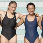 BENICIA SWIMMERS (from left) Chloe Costifas, Julia Lindemuth, Jessica Scott and Cassidy McGuire helped the Stingrays sweep the 13-14 girls division against American Canyon.