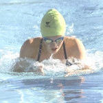ALEXA JACOBSON won the 100-yard freestyle and breaststroke for Benicia's 15-18 girls against Martinez last Saturday.