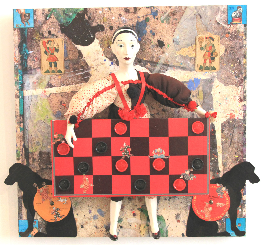 """""""Mime With a Chequered Past"""" by Kirk Hinshaw."""
