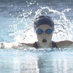 MACKENZIE MINCY won the 25-yard freestyle, backstroke and 100-yard IM for Benicia's 7-8 girls.