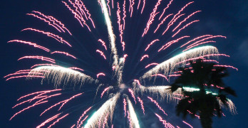 BENICIA'S FIREWORKS SHOW will be Saturday at 9 p.m. File photo