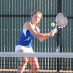 LILY HAYWARD begins the season as Benicia's No. 1 singles player.
