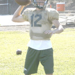 JUNIOR MICHAEL PAPPAS returns at quarterback for the Bruins.