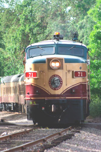 THE WINE TRAIN departs daily from downtown Napa. Courtesy photo