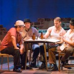 LEFT TO RIGHT, Justin Hernandez, Tim Holt Jones, August and Cesar Reyes.