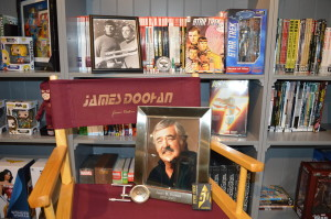 "Deirdre Cruz, the daughter of ""Star Trek"" actor James Doohan, will be showing off her personal collection at Zeppelin Comics in September in honor of the influential sci-fi series' 50th anniversary. There will also be a raffle, with proceeds going toward bringing more technology to the Hyland Teen Center. (Photo courtesy of Deirdre Cruz)"