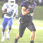 FORMER BENICIA High great Austin Carr leads the Big 10 Conference in receptions and receiving yards while playing for the Northwestern Wildcats.