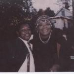 Benicia poet Bobby Richardson with Maya Angelou. (Photo courtesy of Bobby Richardson)