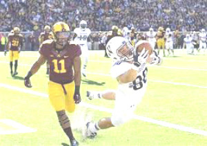 AUSTIN CARR is a semifinalst for the Biletnikoff Award given to college football's best receiver.