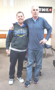 ELIOT PALMER (left) will succeed Jim Bowles (right) as manager of Benicia High's varsity baseball team.