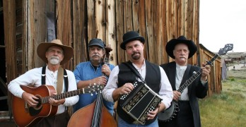 (Left to Right)Steve McArthur, Richard Restivo, Patrick Karnahan and James Dean Nelson of the Black Irish Band, will be playing at the Camel Barns on Saturday.(Courtesy photo)