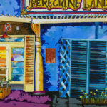 Artist's Northern California neighborhood series on display at library