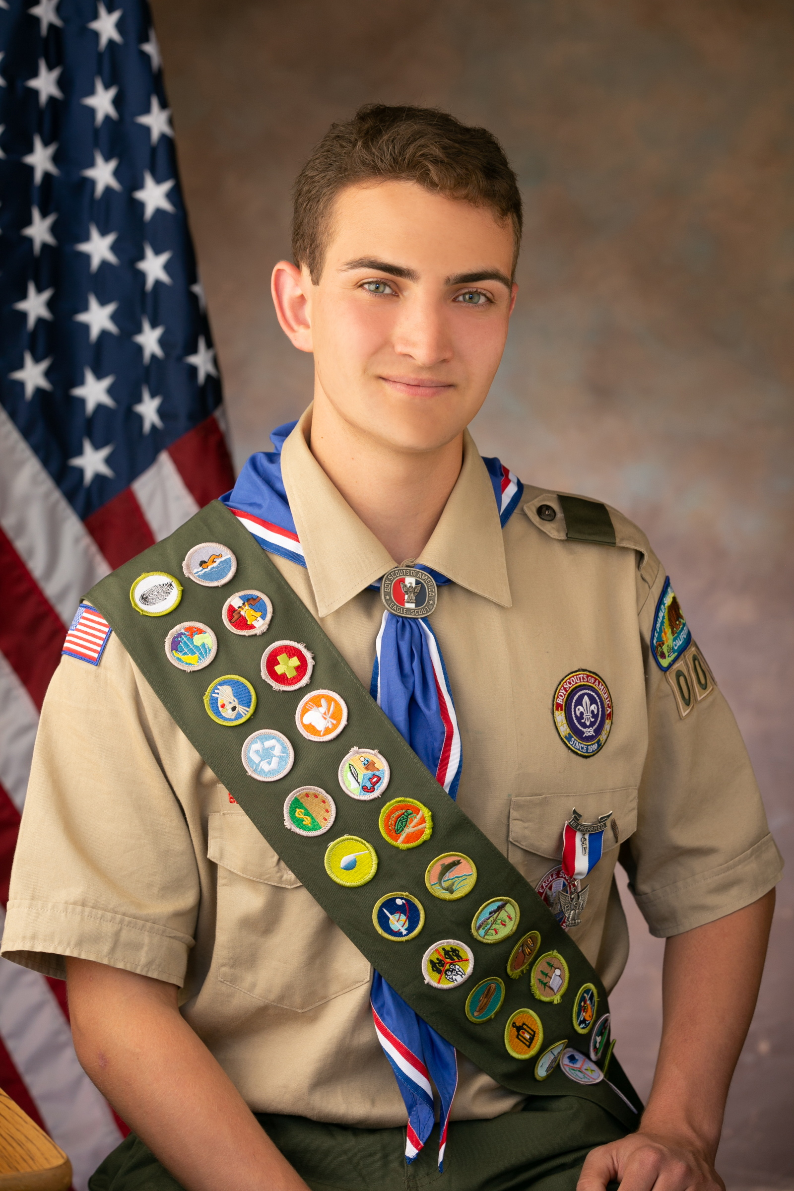 Benicia resident earns Eagle Scout rank; constructs