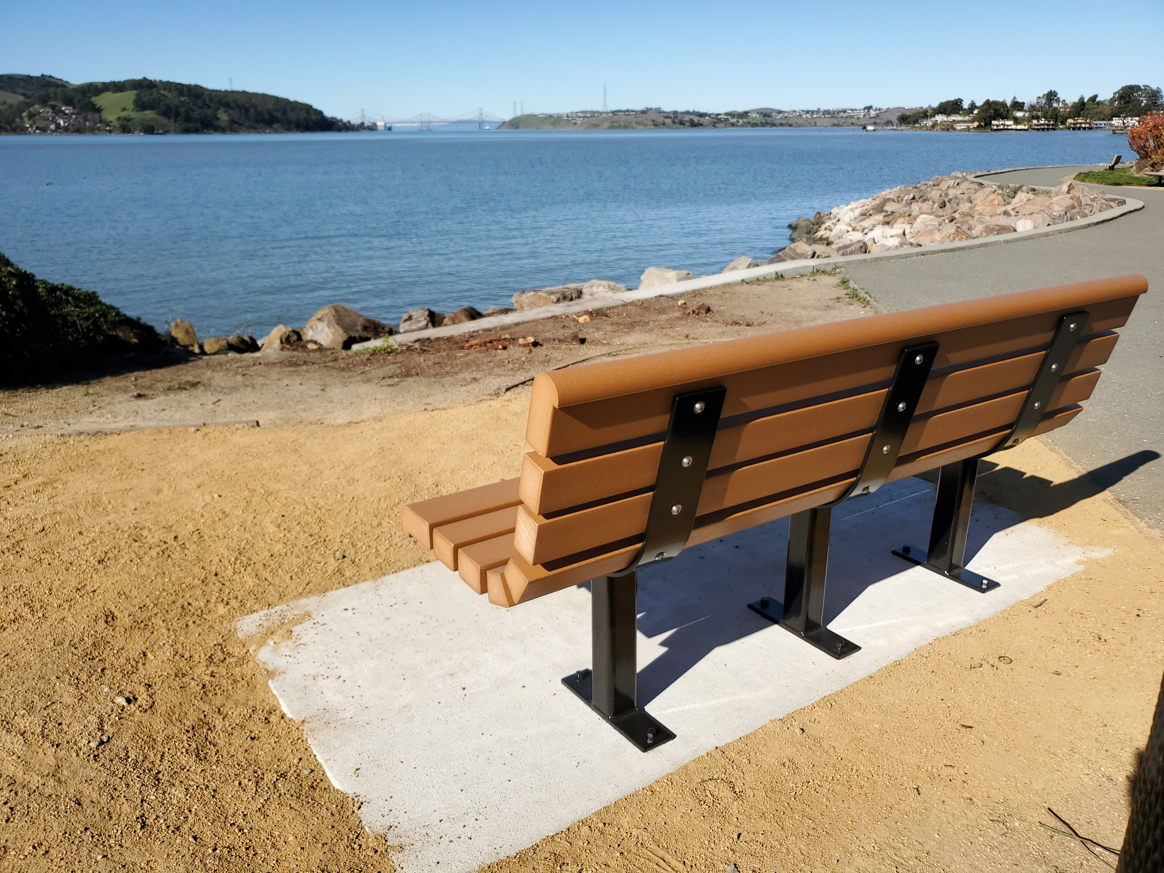 City Of Benicia Installs Memorial Bench For Damani Elijah Chadly For National Gun Violence Survivors Week